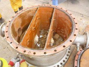 Tête d'un échangeur de chaleur tubulaire