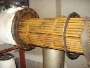échangeur de chaleur à faisceau tubulaire encrassé